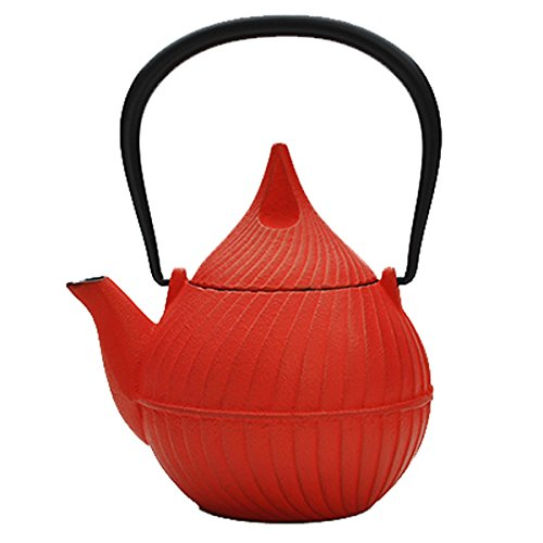 Southern iron teapot bud Tsubomi 0.4L Red (japan import)