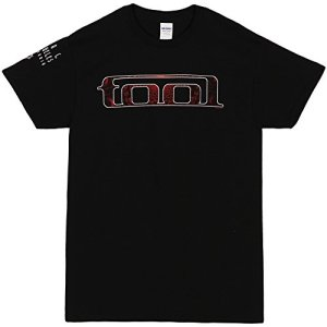 FEA Merchandising Tool Red Pattern T-Shirt Black