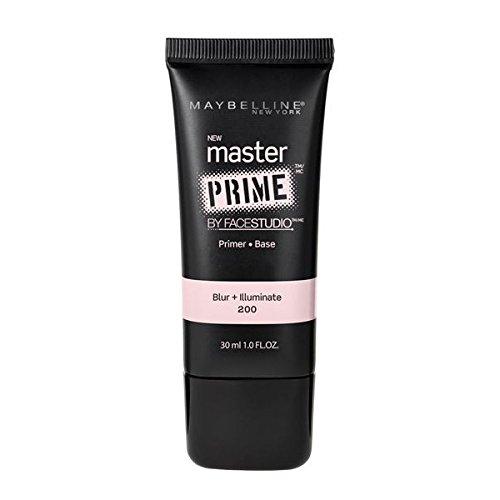 Maybelline Face Studio Master Prime Primer, Blur + Illuminate, 1 Fluid Ounce