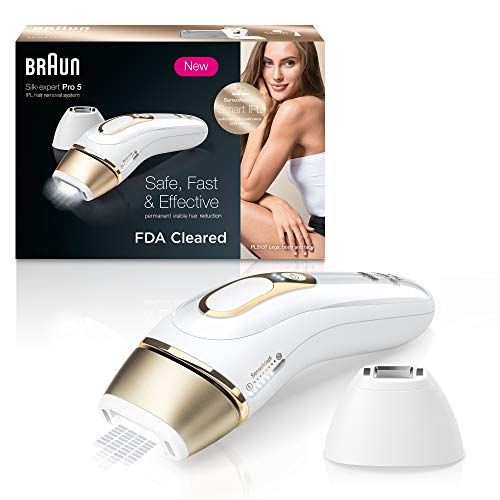Braun-IPL-Hair-Removal-for-Women-Silk-Expert-Pro-5-PL5137-with-Venus-Swirl-Razor-FDA-Cleared-Permanent-Reduction-in-Hair-Regrowth-for-Body-Face-Corded