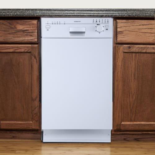 EdgeStar BIDW1801W 18' Built-In Dishwasher - White