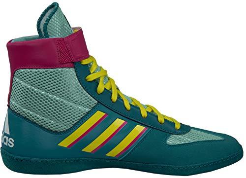 adidas Combat Speed, Light Aqua/Yellow/Teal, 9