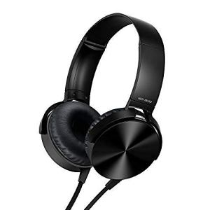 i-Birds Extra Bass On-Ear Headphones for Smartphones Wired Headset (Black)
