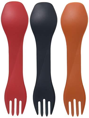humangear Gobites Uno, 3-Pack, Red/Gray/Orange