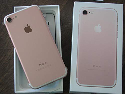 Apple iPhone 7, GSM Unlocked, 256GB - Rose Gold (Refurbished)