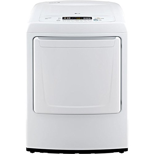 LG DLE1001W 7.3 Cu. Ft. White Electric Dryer