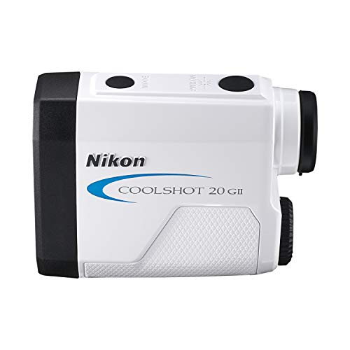 Nikon Coolshot 20 GII Golf Laser Rangefinder, With Extra Case Kit