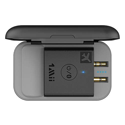 Airplane-Bluetooth-50-Adapter-for-Headphones-WPortable-Charging-Case-Universal-Wireless-Flight-Audio-Transmitter-Supports-AptX-Low-Latency-HD-Gift-for-MenWomen-1Mii-B05