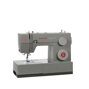 SINGER | Heavy Duty 4452 Sewing Machine with 32 Built-In Stitches, Metal Frame, Built-In Needle Threader, & Heavy Duty Accessory Kit – Sewing Made Easy