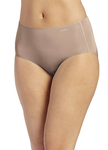 Jockey Women's No Panty Line Promise Tactel Hip Brief Light 5 (MD)