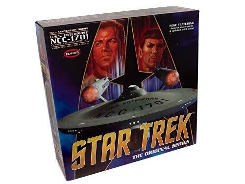 Polar-Lights-Star-Trek-TOS-Enterprise-50th-Anniversary-Edition-1350-Scale-Model-Kit