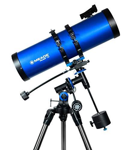 Meade Instruments Polaris 130mm Refractor Azul - Telescopio