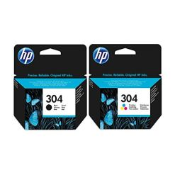 41DWERzFJaL - Black & Tri-Colour HP Ink Cartridge - for HP Deskjet 3730 Printers - Original Ink Cartridge