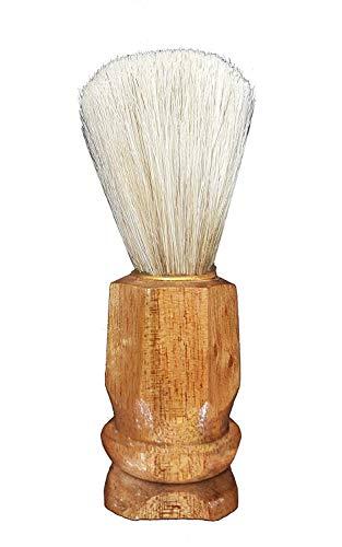 Inaaya Natural Bristles Shaving Brush For Men And Boys, Brown, 20 Gram, Pack Of 1 8