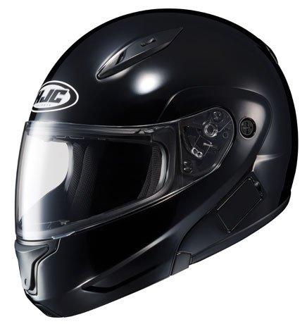 HJC CL-MAXBT II Bluetooth Modular Motorcycle Helmet (Black, Medium)