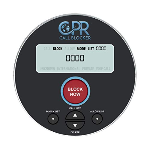 CPR V10000 - Introducing Our Latest Model Call Blocker with Dual Mode Protection. Pre-Loaded with 10,000 Known Robocall Scam Numbers - Block a Further 2,000 Numbers at a Touch of a Button