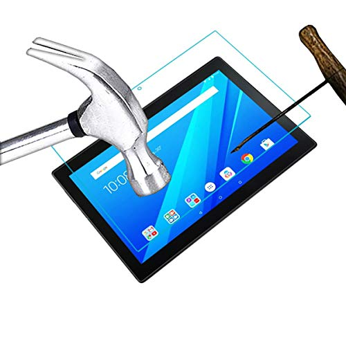 Acm Tempered Glass Screenguard Compatible with Lenovo Tab 4 10 Tb-X304l Tablet Screen Guard 3