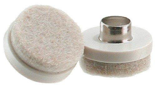 Shepherd Hardware 9933 7/8-Inch Felt Nail On Furniture Pads, 8-Pack