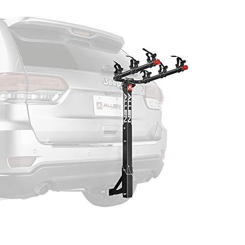 Allen Sports 3-Bike Hitch Mount Rack with 1.25/2-Inch Receiver