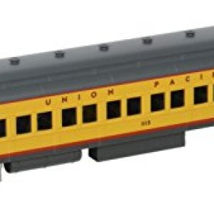 Bachmann Industries Union Pacific #1115 Yellow 72′ Heavyweight Coach with Lighted Interior 41DrnC0JPsL