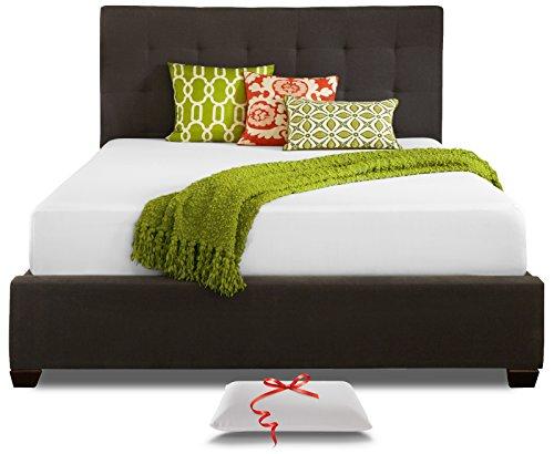 Live and Sleep Queen Mattress - Memory Foam Mattress - 10 Inch Cool Bed in a Box - Medium Firm - Includes Premium Foam Pillow - CertiPur US Certified – Queen Size