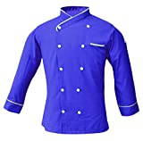 Product review of Leorenzo Creation NP-07 Men's Chef Coat (Size=XS-4XL, Seven Colours=7)