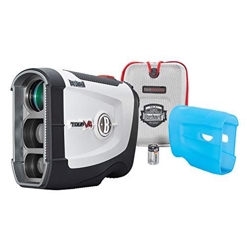 Bushnell Tour V4 JOLT Golf Laser Rangefinder, Patriot Pack Version, Protective Skin included