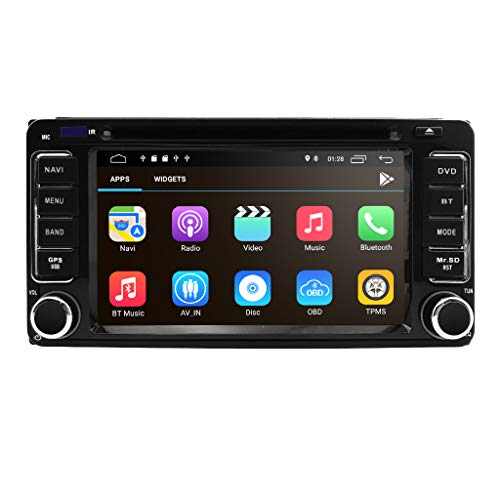 Quad-Core-Android-10-2-Din-in-Dash-HD-1024600-Capacitive-Touch-Screen-Car-DVD-Player-GPS-Navigation-Radio-Compatible-for-Toyota-RAV4-Corolla-Camry-Tundra-4Runner-Previa-Highlander-Yaris-Prado-Hilux