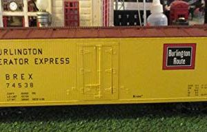 K-Line Trains O Scale Burlington Route Classic Scale Reefer Car #K762-1331 41E 2B0Ko NeL