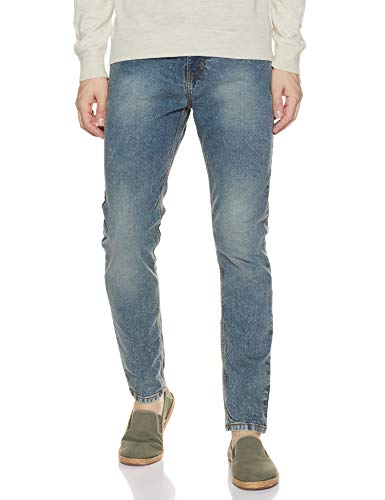 Amazon Brand – Symbol Men's Relaxed Fit Slim Jeans