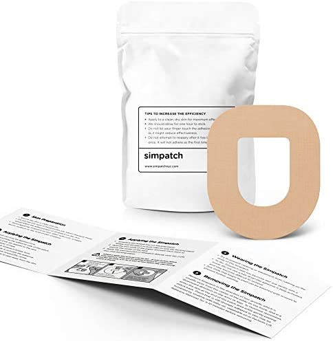 SIMPATCH – OmniPod Adhesive Patch (25-Pack) – Waterproof Adhesive, CGM Tape – Multiple Color Options 2