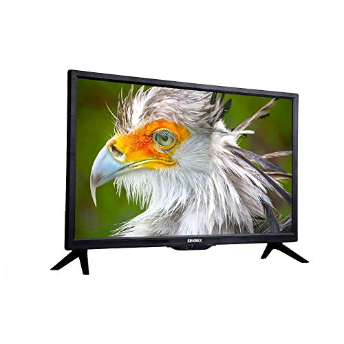 Sensex 60 cm (24 Inches) HD Ready LED TV With IPS Display K-2600 (Black) (2019 Model) 182