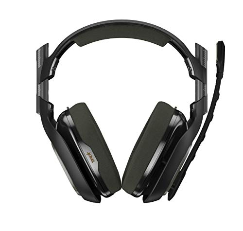 ASTRO Gaming A40 TR Gen 3 Wired Gaming Headset with Controller Mounted MixAmp M80 for Xbox One – Green/Black