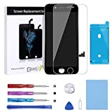 BeeFix Compatible iPhone 7 Plus Screen Replacement LCD Display Touch Screen Digitizer Replacement Kit with Free Repair Tools fit iPhone 7 Plus 5.5 inch (Black)