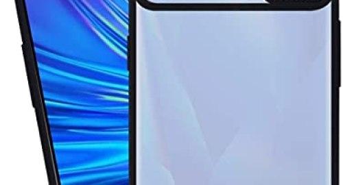 Anks Online Camera Protection Case Cover for Realme 5, 5S, 5i -Black