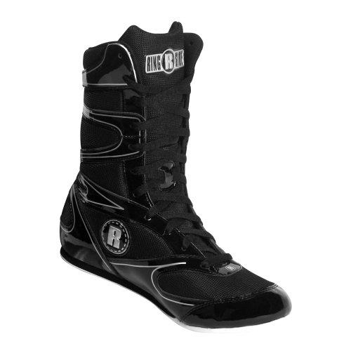 Ringside High Top Boxing Shoe (Black, 9)