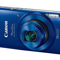 Canon PowerShot ELPH 190 IS Digital Camera (Red) with 10x Optical Zoom and Built-In Wi-Fi with 32GB SDHC + Flexible…