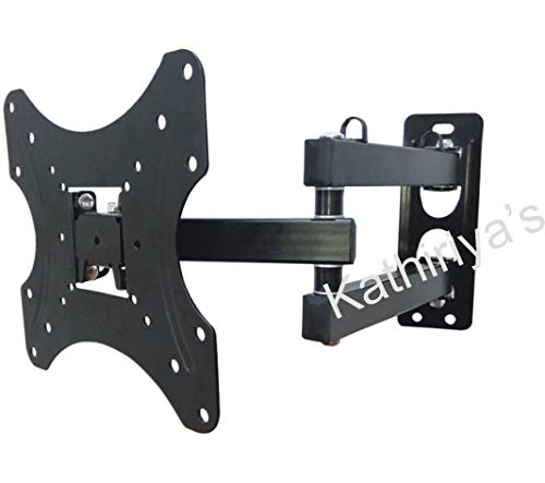 Kathiriyas Kathiriya,s Solid Heavy Metal Wall Mount Stand (Movable) for 17 to 40-inch LCD LED TV with All Screw (Black) 1