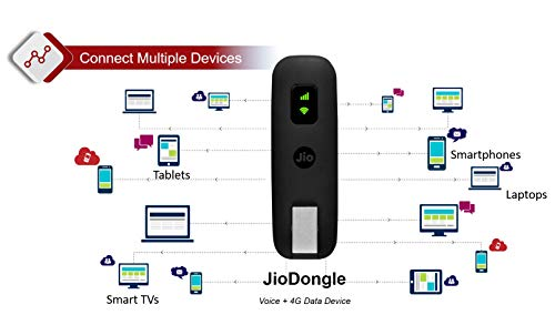 JioFi JDR740 (Dongle) 150Mbps Wireless 4G Portable Router