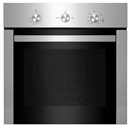 Empava 24' Stainless Steel Built-in NG/LPG Convertible Broil/Rotisserie Gas Single Wall Ovens 1500W + 2500W EMPV-24WOD04