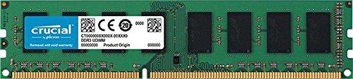 Crucial 8GB Single DDR3L 1600 MT/s (PC3L-12800)  Unbuffered UDIMM  Memory CT102464BD160B