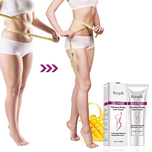 Slimming Cream for Tummy, Abdomen, Belly and Waist - Firming Cream - Hot Cream for Weight Loss - Anti Cellulite Cream And Stomach Fat Burner - Natural Ingredients (Mango) 10