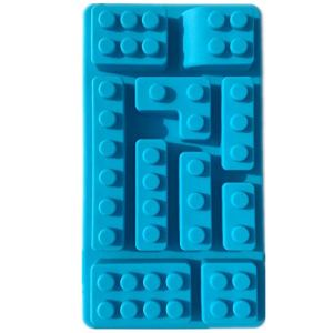 Wilk Convenient Household Supplies 10 Holes Brick Blocks Shaped Rectangular Chocolate Silicone Mold Ice Cube Tray Cake Appliance Fondant Moulds 41ESpe6k SL