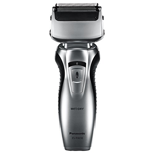 PANASONIC Electric Razor Men's Dual Blade Cordless - ES-RW30-S - (Silver)