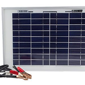 10 Watt Polycrystalline Solar Panel Charger for Deep Cycle Battery – Mighty Max Battery brand product