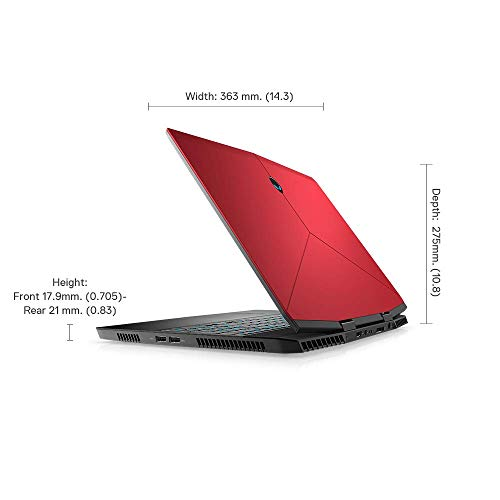 Dell Alienware m15 15.6-inch FHD Gaming Laptop (Core i7-7700HQ/8GB/1 TB HDD + 256Gb SSD/Windows 10 + MS Office/Nvidia GTX 1060 6GB Graphics) 7