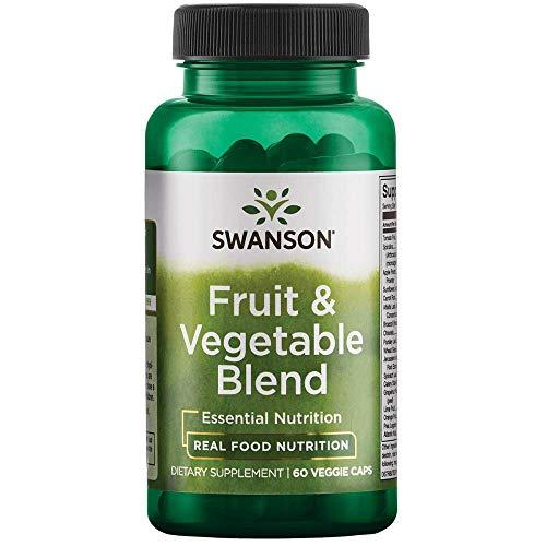 Swanson Fruit & Vegetable Blend 60 Veg Capsules