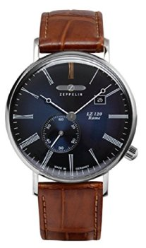 Zeppelin LZ120 Rome Men's Watch Blue Dial 7134-3