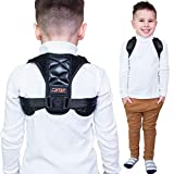 Fritac Back Brace Posture Corrector for Teens and Kids. Physical Therapy for Clavicle Support and Relief from Back Pain & Shoulder. Sizes XS-S: 26' to 35' Inch.