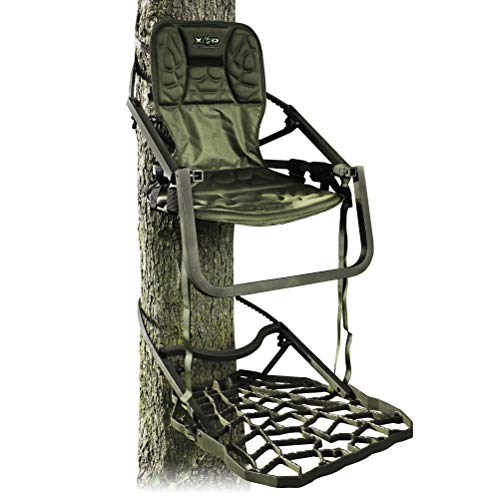 Xtreme Outdoor Products XOP Ambush - Aluminum Climbing Tree Stands for Hunting, XOP Green